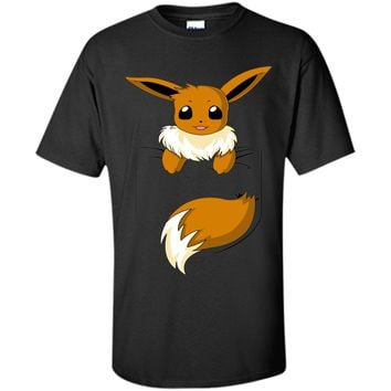 Eevee in my pocket-Lovely animal T-Shirt