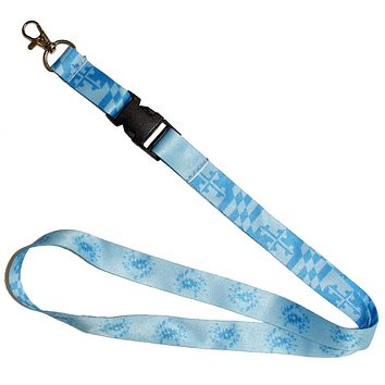 Maryland Flag & Crab (Blue) / Lanyard