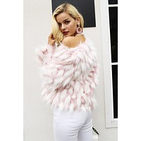 MILLIE Fluffy Warm Faux Fur Coat