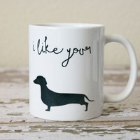 I Like Your Wiener Coffee Mug | Funny Coffee Mug | Funny Valentines Gifts | Gift for Husband | Funny Birthday Gift | Coworker Gift | Office