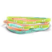 Under Armour Mini Headbands - Mint Green/Orange/Lemon