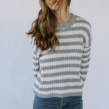 Lucia Stripe Sweater