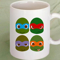 ninja turtles funny coffee mug,tea mug,cup mug 11oz
