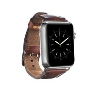 Leather Apple Watch Strap, Brown
