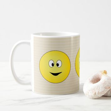Yellow Smiley Face Coffee Mug