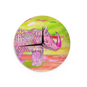 "Catherine Holcombe ""Pretty in Pink"" Wall Clock"