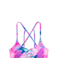 Crisscross Top - PINK - Victoria's Secret