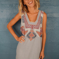 Fort Collins Embroidered Dress Denim
