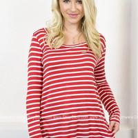 Loosen Up Striped Top | Brights
