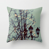 Winter Lights Throw Pillow by Elle Moss