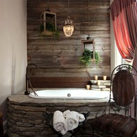 Beautiful Living Spaces / Bathtub\Bathroom like