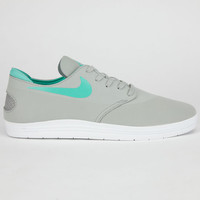 Nike Sb Lunar One Shot Mens Shoes Base Grey/Crystal Mint  In Sizes