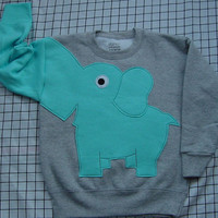NEW Elephant Trunk sleeve sweatshirt by CreativeCallipipper