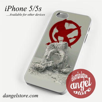 The Hunger Game Fallen Snow Statue Phone case for iPhone 4/4s/5/5c/5s/6/6 plus
