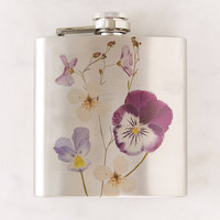 Pressed Flower Flask | Urban Outfitters
