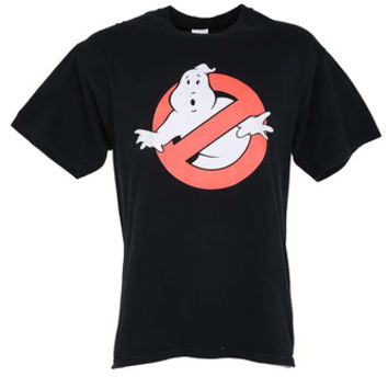 90s Ghostbusters Black T-Shirt - L | Womens | Rokit Vintage Clothing