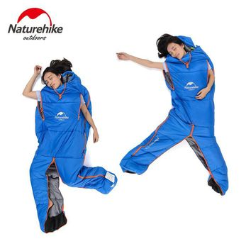 NH Innovative Mountain Humanoid Outdoor Camping Travelling Home Office Super Light Warm Free Move sleeping bag