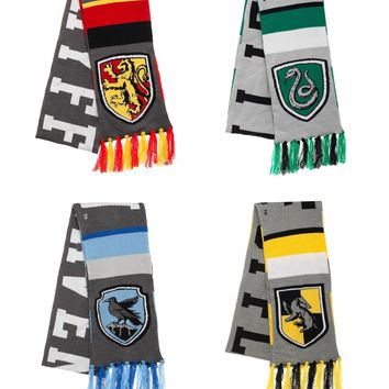 Harry Potter House Striped Scarves