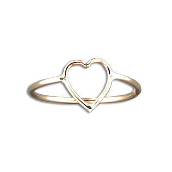 Heart Ring - Gold Filled