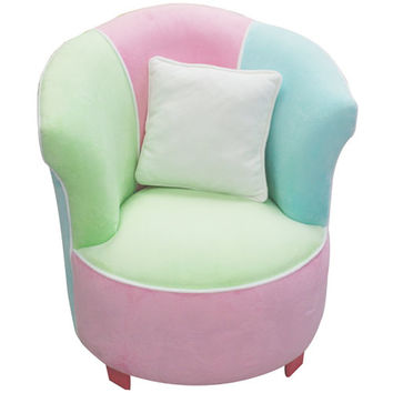 Komfy Kings, Inc 70172 Multicolor Tulip chair