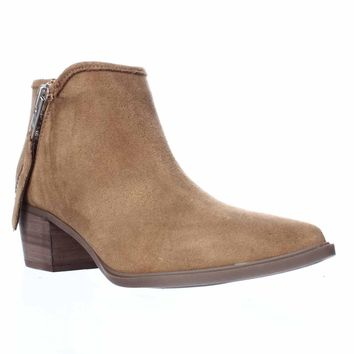 STEVEN by Steve Madden Doris Ankle Booties, Camel, 7.5 US