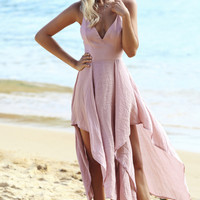 Magic Of Love Maxi Dress Blush