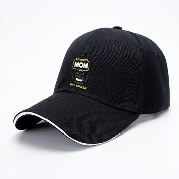 Jedi Master Mom Just Like Normal Mom Except Way Cooler, Mother's Day Baseball Cap