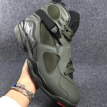 Beauty Ticks Air Jordan Retro 8 Take Flight Basketball Shoes Men 8s Athletic Sneakers Come With Sho