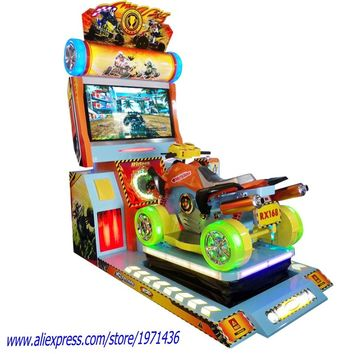 NYST Hot Selling Coin Operated Arcade Machine Crazy Dynamic Drive Car Racing Simulator Game Machine For Adults and Kids