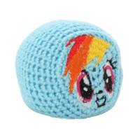 My Little Pony Rainbow Dash Footbag