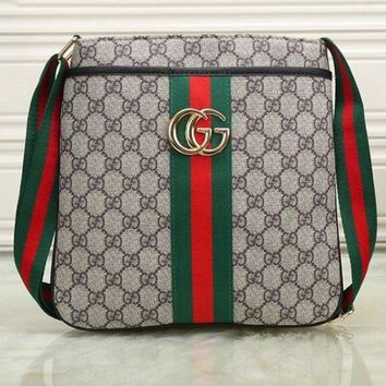 ONETOW Boys & Men Gucci Men Shopping Leather Tote Crossbody Satchel Shoulder Bag