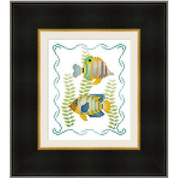 Sea life -  PDF Cross Stitch Pattern - INSTANT DOWNLOAD