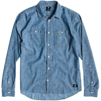 DC Clinton Hill Shirt - Long-Sleeve - Men's Indigo,