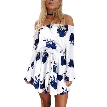 Stellar Strapless Mini Dress