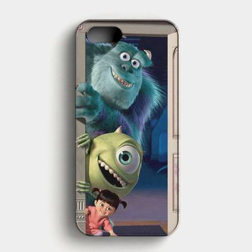 Monsters Inc Quotes iPhone SE Case