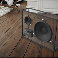 TRANSPARENT SPEAKER | BY PEOPLE PEOPLE ($500-5000)