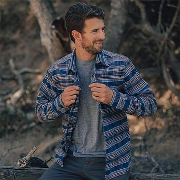 Boone Heavy Brushed Twill Overshirt by The Normal Brand