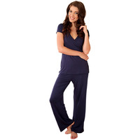 Maternity & Nursing Lounge Set {Navy}
