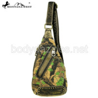 Montana West Camo Stone Washed Canvas Travel Bag Collection Cross Body Sling Bag
