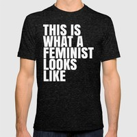 This is What a Feminist Looks Like (Black & White) iPhone & iPod Case by CreativeAngel