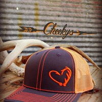 Orange Hunter's Heart Hat