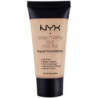 NYX - Stay Matte But Not Flat Liquid Foundation - Porcelain - SMF16