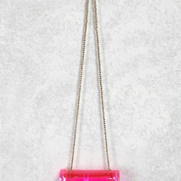 LED Jelly Crossbody Bag