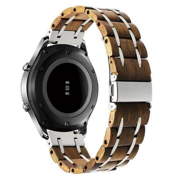Samsung Gear/Frontier Gear Walnut Stainless Steel Watchband