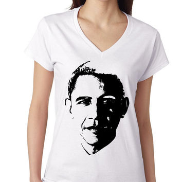 Obama Graphic Tee | Available in Sizes S to 3XL | Made from Soft Pre-Shrunk Cotton with Tapered Side Seams