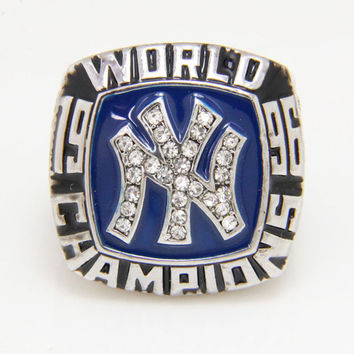 2015 Factory direct sales of Sports Jewelry for replica 1996 NY World Series super bowl Champio
