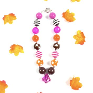 RTS Halloween Chunky Necklace