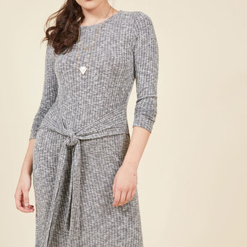 Destination Determinant Knit Dress