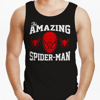 Spiderman The Amazing Spiderman Mens Tank Top Mens Shirt Men Tank Shirts