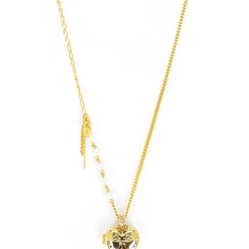 Heart Locket Iconic Necklace by Juicy Couture